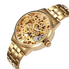 Ανδρικά Μοδάτο Ρολόι Ρολόι Καρπού μηχανικό ρολόι Αυτόματο κούρδισμα Εσωτερικού Μηχανισμού κράμα Μπάντα Καθημερινά Πολύχρωμο