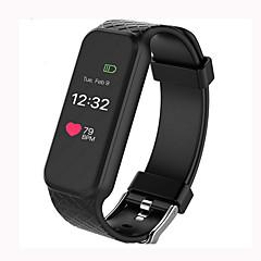 l38i okos karkötő dinamikus szívritmus ios android okostelefon, színes képernyő alvó tracker lépésszámláló