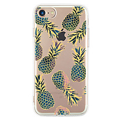 Voor Ultradun Patroon hoesje Achterkantje hoesje Fruit Zacht TPU voor Apple iPhone 7 Plus iPhone 7 iPhone 6s Plus/6 Plus iPhone 6s/6