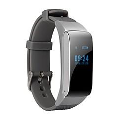 Smart slid armbånd df22 sundhedsovervågning bluetooth opkald ur mode touch screen sport kører skridttæller mtk6261mg-sensor