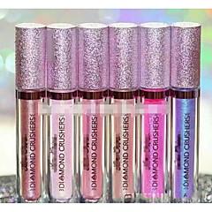 립글로즈 립스틱 젖은 밤 색깔있는 글로스 Täckning 지속 시간 천연