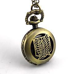 Klok/Horloge Meer Accessoires geinspireerd door Attack on Titan Eren Jager Anime Cosplayaccessoires Ketting Klok/Horloge Vrouwelijk