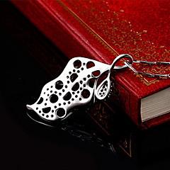 Μενταγιόν Ασήμι Στερλίνας Βασικό Μοναδικό Μοντέρνα Βοημία Style Ασημί Κοσμήματα Καθημερινά 1pc