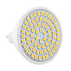 7W GU5.3(MR16) LED-spotlights MR16 72 SMD 2835 600-700 LM Varmvit Kallvit Dekorativ V 1 st