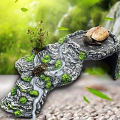 Akváriumdíszek Díszítések Kövek Nem mérgező és íz nélküli Gyanta