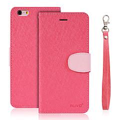Mert Pénztárca Kártyatartó Állvánnyal Flip Case Teljes védelem Case Egyszínű Kemény Műbőr mert XiaomiXiaomi Redmi 3 Xiaomi Redmi Note 3
