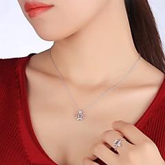 Breloczki Crown Shape Srebro standardowe Klasyczny Unikalny Modny Biżuteria Na Codzienny Casual