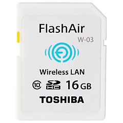 Toshiba 16GB Wifi SD-kort hukommelseskort Class10 Flash air