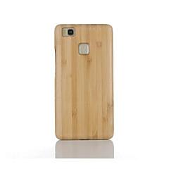 Voor Schokbestendig hoesje Achterkantje hoesje Effen kleur Hard Bamboe voor Huawei Huawei P9 Huawei P9 Lite