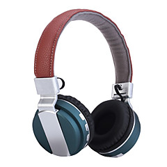 Headset Wireless Foldable Folding Stereo Headphones with Noise Cancelation Microphone & Rechargeable Li-ion Battery