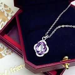 Γυναικεία Μενταγιόν Κρύσταλλο Βασικό Λατρευτός Μοντέρνα Βυσσινί Κοσμήματα Καθημερινά Causal 1pc