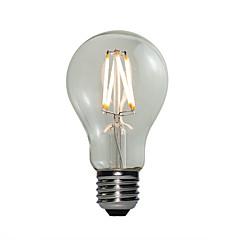 4W E27 LED-pallolamput A60(A19) 4 COB 360 lm Lämmin valkoinen Himmennettävä AC 220-240 V 1 kpl