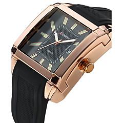 Men's Women's Unisex Sport Watch Dress Watch Fashion Watch Wrist watch Quartz Genuine Leather Band Charm Casual Luxury Multi-Colored