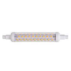 10W R7S LED-lampor med G-sockel T 86 SMD 2835 600-800 LM Varmvit Dekorativ V 1 st