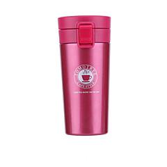 Klassiek Sportief Voor buiten Glazen en bekers, 380 ml warmhoudvak Draagbaar RVS Polypropyleen Thee Naakt vacuum Cup