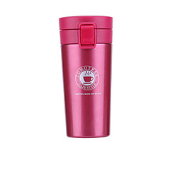 Klassisk Sport Utomhus Dryckesaccessoarer, 380 ml värmelagrande Bärbar Stainless Steel Polypropen Te naken vakuum Cup