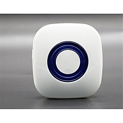 433MHz Πλαστικό Κουδούνι χωρίς οπτικό Ενσύρματο κουδούνι Συστήματα