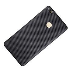 Voor Schokbestendig hoesje Achterkantje hoesje Effen kleur Zacht Carbonvezel voor XiaomiXiaomi Mi Max Xiaomi Redmi 3 Xiaomi Redmi Note 3