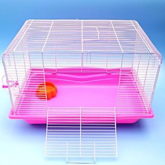 Rodents Rabbits Chinchillas Cages Foldable Cottage Plastic Blue Brown Pink