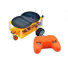 Oyuncaklar Erkekler için keşif Oyuncaklar Güneş Enerjili Oyuncaklar Araba Plastik Sarı