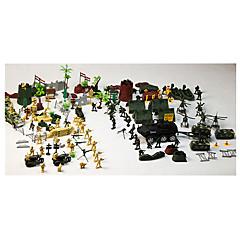Figurki i zabawki pluszowe wyświetlacz modelu Zielony Biały