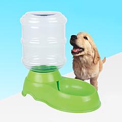 Pies Miski i butelki wody Zwierzęta domowe Miski i Żywienie Odblaskowy Orange Czerwony Green Niebieski