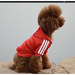 Perros Disfraces Abrigos Rojo Amarillo Azul Negro Rosado Ropa para Perro Primavera/Otoño Un Color Casual/Diario