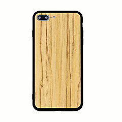 For Mønster Etui Bagcover Etui Imiteret træ Hårdt Akryl for AppleiPhone 7 Plus iPhone 7 iPhone 6s Plus iPhone 6 Plus iPhone 6s iPhone 6