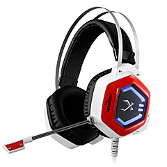 xiberia jogo v11 fone de ouvido levou faixa de cabeça stereo luz brilhante pc gamer headphones super bass auscultadores 7,1 usb vibração