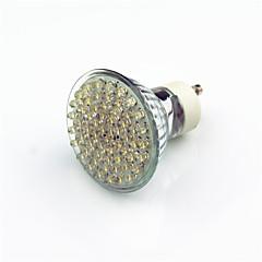 2W GU10 Lâmpadas de Foco de LED 60 LED Dip 200 lm Branco Quente Decorativa AC220 V 1 pç