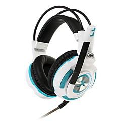 xiberia k3u słuchawek do gier wirtualnych 7.1 Surround Gaming Headset wibracje stereo bass lekkie słuchawki z mic dla PC Gamer