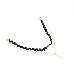 Women's Choker Necklaces Jewelry Nylon Alloy Jewelry Fashion Personalized Euramerican Black Jewelry Daily Casual 1pc