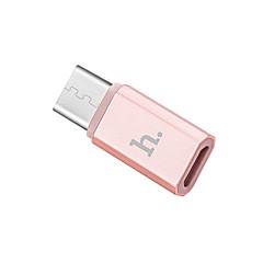 Mikro USB 3.0 Type C Bærbar Adapter Til Samsung Huawei Sony Nokia HTC Motorola LG Lenovo Xiaomi / cm Metal