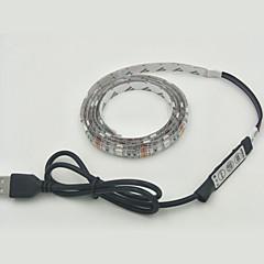 1pcs 30smd 5050 rgb strip verlichting 1m dc 5v wattage 3.5W usb IP65 waterdicht met rgb controlle