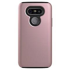 Varten Pölynkestävä Etui Takakuori Etui Yksivärinen Kova PC varten LG LG G5