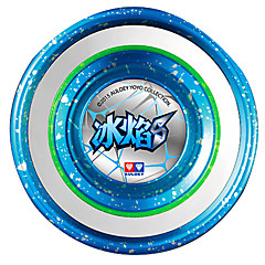 Professional Yoyo Leisure Hobby Sphere Metal Gifts Blue