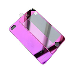 tükör szín borítás anti robbanás üveg fólia (elöl-hátul) iPhone 6s / 6