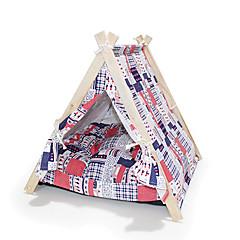 Kot Pies Namiot Składany Namiot Wielobarwność Tkanina
