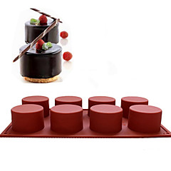 bakvorm voor Cake voor Cupcake Other SiliconeHoge kwaliteit Kerstmis Halloween Bruiloft Verjaardag Vakantie Pasen Nieuwjaar Valentijnsdag