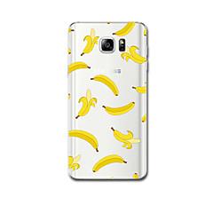 Na Ultra cienkie Wzór Kılıf Etui na tył Kılıf Owoc Miękkie TPU na Samsung Note 5 Note 4