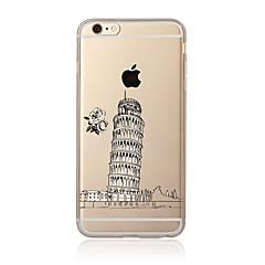 For Transparent Mønster Etui Bagcover Etui Bybillede Blødt TPU for AppleiPhone 7 Plus iPhone 7 iPhone 6s Plus/6 Plus iPhone 6s/6 iPhone