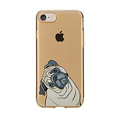 Za Prozirno Uzorak Θήκη Kućište Θήκη Pas Mekano TPU za AppleiPhone 7 Plus iPhone 7 iPhone 6s Plus/6 Plus iPhone 6s/6 iPhone SE/5s/5