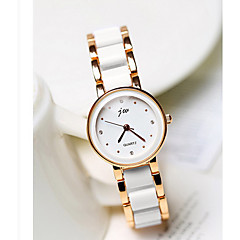 Women's Fashion Watch Quartz Alloy Band Casual Gold