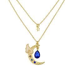 목걸이 초커 목걸이 보석류 캐쥬얼 베이직 디자인 합금 1PC 선물 로즈 블루