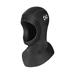 Unisex 3mm Diving Hoods Waterproof Quick Dry Diving Suit Balaclava-Swimming Diving Spring Summer Fall/Autumn Winter Fashion Solid