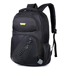 남성의 15.6 인치 노트북 가방 눈송이 천 컴퓨터 어깨에 매는 가방