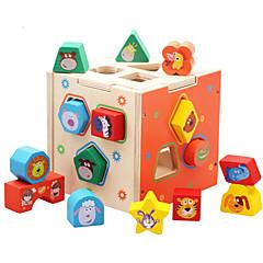 بانوراما الألغاز ألعاب تربوية اللبنات DIY اللعب 1
