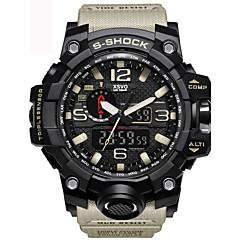Męskie Dziecięce Sportowy Wojskowy Do sukni/garnituru Modny Zegarek na nadgarstek Zegarek na bransoletce Unikalne Kreatywne WatchCyfrowe