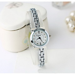 Women's Fashion Watch Simulated Diamond Watch Water Resistant / Water Proof Imitation Diamond Japanese Quartz Alloy Band Charm Cool Casual