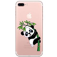 Voor Transparant Patroon hoesje Achterkantje hoesje Cartoon Zacht TPU voor AppleiPhone 7 Plus iPhone 7 iPhone 6s Plus iPhone 6 Plus